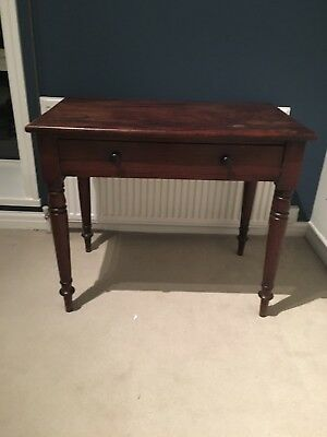 Regency Cuban Mahogany Side Table.