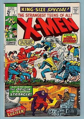 X-Men King-Size Special # 1 Fnvf (7.0) Very Glossy Higher Grade Cents Copy- 1970