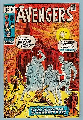 AVENGERS # 85 VFN (7.5/8.0) 1st SQUADRON SUPREME APPEARANCE - HIGH GRADE - CENTS