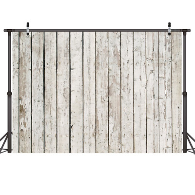 LYWYGG 7x5ft Wood Wall Backdrop Hardwood Floorboard Photography Background...
