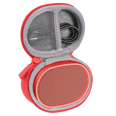 Hard Travel Case for Sony SRS-XB01 Compact Wireless Speaker by co2CREA (Red)