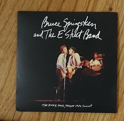 Bruce Springsteen and The E Street Band: THE RIVER TOUR,TEMPE 1980 Concert CD