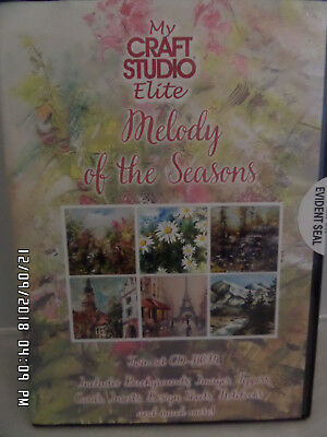 My Craft Studio Elite Melody of the seasons Twin Set CD Rom New and Sealed