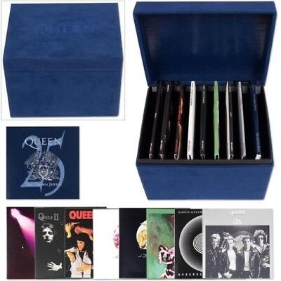Queen - The Crown Jewels 25th Anniversary 8 CD Box Set w Booklet in Velvet Box
