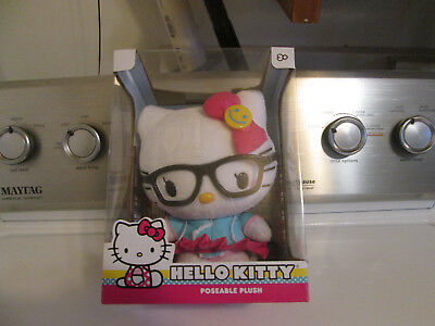 Hello Kitty Poseable Plush Brand New In Box 2016 Made By Sanrio Co Ltd