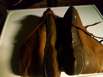 Pair of DR MARTENS BROWN CHUKKA BOOTS SIZE 10 IN FAIR CONDITION