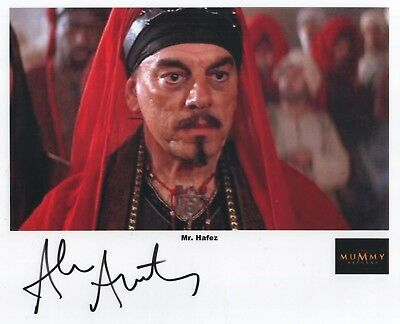 "Mummy Returns Auto Photo Print Alun Armstrong ""Mr. Hafez"""