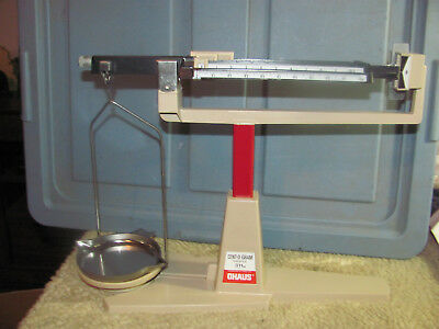 Ohaus Cent-O-Gram 311G Capacity Balance Scale 4 Beam Very Good ++ Shape Powder
