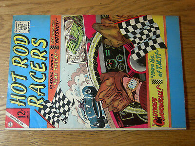 Hot Rod Racers #7 VG- tame the tiger