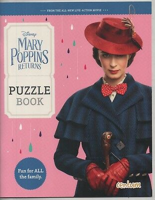 Mary Poppins Returns Odeon Cinema's 24 Page Puzzle Book