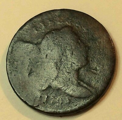 1794 Half Cent Sharp Early Date