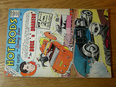 Hot Rods and Racing Cars #45 G/VG Rock N Roarers