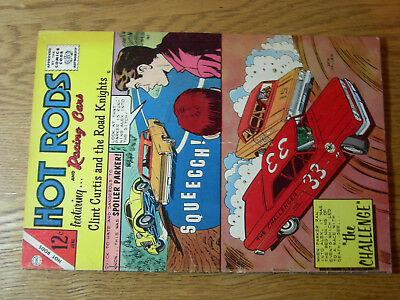 Hot Rods and Racing Cars #69 VG Spoiler Parker