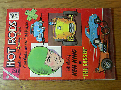 Hot Rods and Racing Cars #70 VG- Ken King