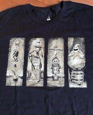 Disney Parks Haunted Mansion Nightmare Before Christmas L T Shirt