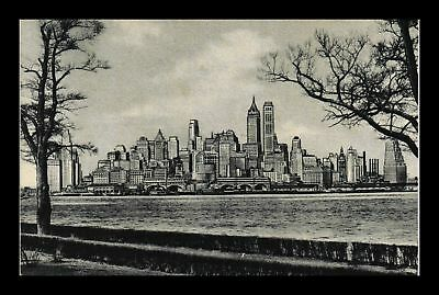 Dr Jim Stamps Us New York City Lower Manhattan View Postcard
