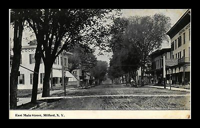 Dr Jim Stamps Us East Main Street Milford New York View Postcard