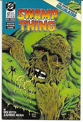 Swamp Thing 67 John Constantine Hellblazer Preview Green Solomon Grundy NM