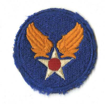 Wwii Original Us Army Air Forces White Back Patch Fighters Bombers Usaaf