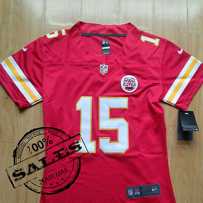 Women's Stitching Patrick Mahomes Red #15 Elite Football Jersey Chiefs Brand-New