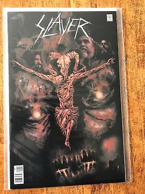 Slayer - Rock N Roll Biography Comic Book #1 Nm Rare Lp