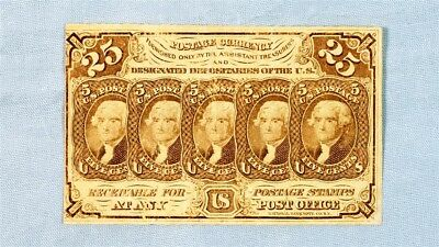 FR. 1281 25 Cent US Fractional (Postage Currency) - ABCO on Reverse