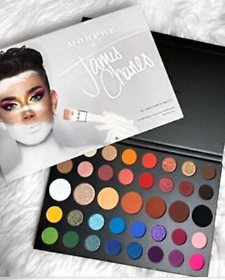 Newest Hot MORPHE x James Charles Inner Artist 39 Pressed & Valentines Gifts
