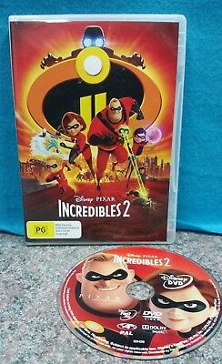 Incredibles 2 DVD Disney Pixar 2018