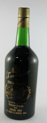 Kaiser Stuhl  Barossa Valley Vintage Port 768ml 1973 #5