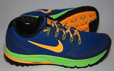 904c3c9accd Nike Air Zoom Wildhorse 3 Mens Running Shoes 749336 400 Blue Orange Volt S