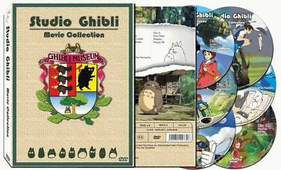 New 17 Movie original Studio Ghibli DVD set Collection Box English Free shipping