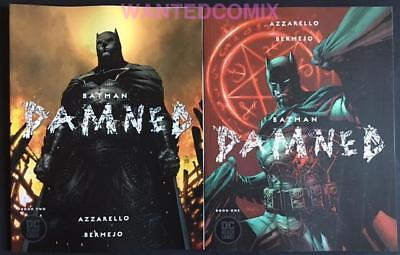 Batman Damned #1 & #2 Jim Lee Variant Cover Set Both First Prints Comic Lot 2018