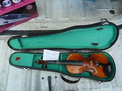Student violin, 1/4 Size and case, no bow.