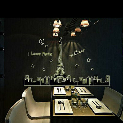 WO Glow In the Dark Home Living Room DIY Decor Art Removable PVC Decals Stickers