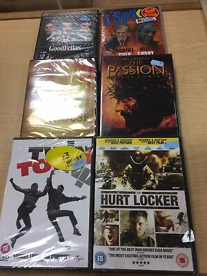 1018 Job Lot of 6 Action/Drama DVD's New and Sealed