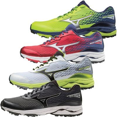 57bb9c951fa8 MIZUNO 2018 WAVE Cadence Water Repellant Spiked Mens Golf Shoe ...