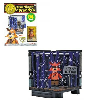 Five Nights At Freddys Construction Pirate Cove Small Classic Series McFarlane
