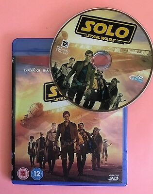 Solo: A Star Wars Story 3D Blu ray