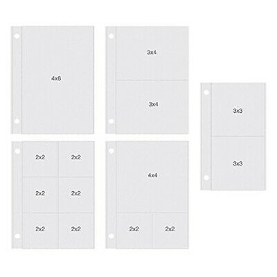 """Sn@p! Pocket Pages For 4""""x6"""" Binders 10/pkg-vertical Variety, 5 Designs/2 Each"""