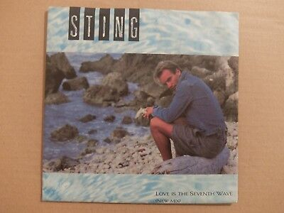 """7"""" STING: Love Is The Seventh Wave"""