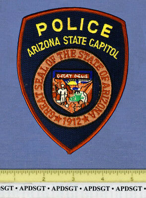 ARIZONA STATE CAPITOL BUILDING Sheriff Police Patch CAPITAL CITY PHOENIX