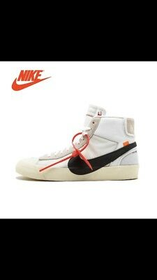 Nike Blazer Mid Off White The Ten X 100% Authentic New Arrival