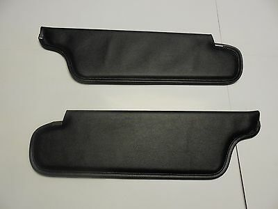 Mopar 69 70 B-Body and A-Body Black Sunvisors 1969 1970 NEW