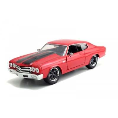 Jada 1:24 Dom's 1970 Chevrolet Chevelle SS 454 Fast & Furious Diecast Car