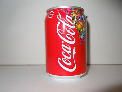 COCA COLA 250 ml. STEEL CAN from JAPAN from 2007 EMPTY  !!!