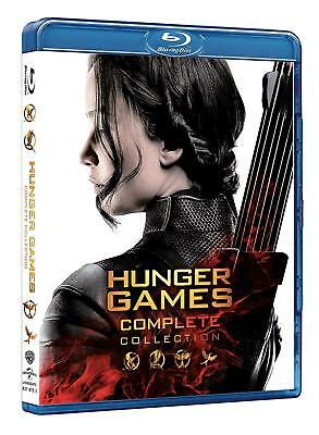 Hunger Games Collection  4 Blu-Ray  Cofanetto