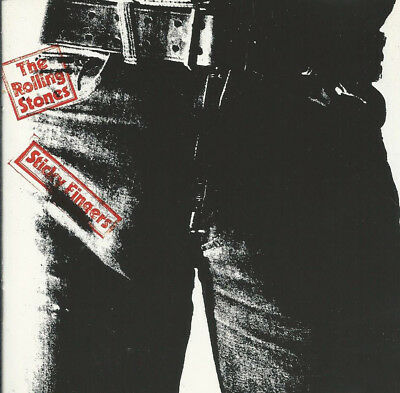"""(CD) The Rolling Stones """"Sticky Fingers"""" (1971)"""