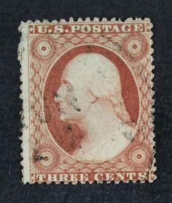 CKStamps: US Stamps Collection Scott#25 3c Washington Used CV$150
