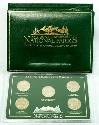 2011 America the Beautiful National Parks Quarter Complete Set
