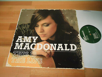 LP AMY MACDONALD - This Is The Life - 2007 RAR Vinyl